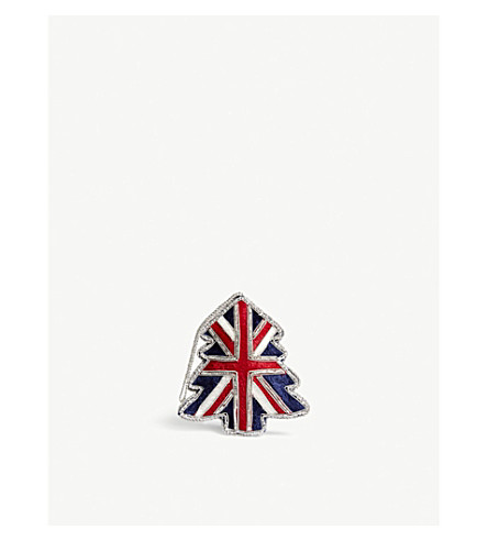 HANGING ORNAMENT Union Jack hanging decoration 10cm