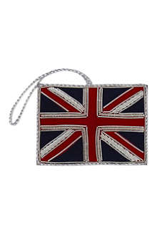 ST NICOLAS Union Jack flag tree decoration