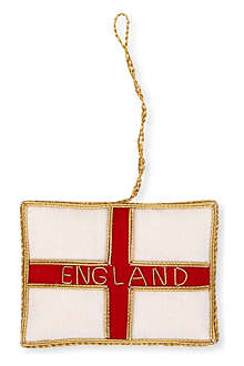 ST NICOLAS St George's cross flag decoration
