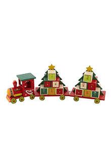 PREMIER DECORATIONS Kids wooden advent train 48cm