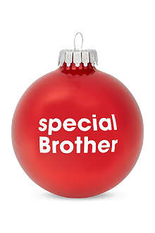SANTA BALLS Special brother bauble