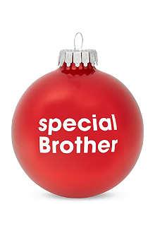 SANTA BALLS Special brother bauble