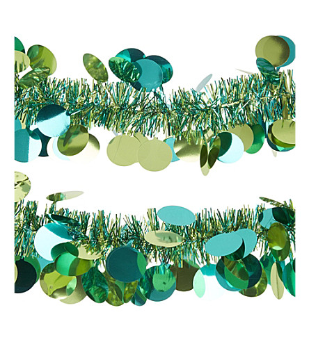 HANGING ORNAMENT Paillette tinsel garland 2m