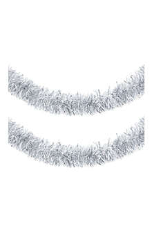 K A WEISTE OY Silver textured tinsel 2m