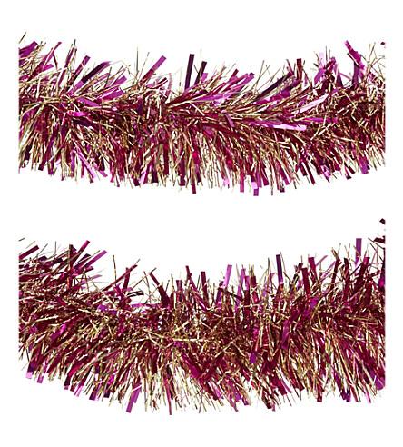 HANGING ORNAMENT Tinsel garland 2m