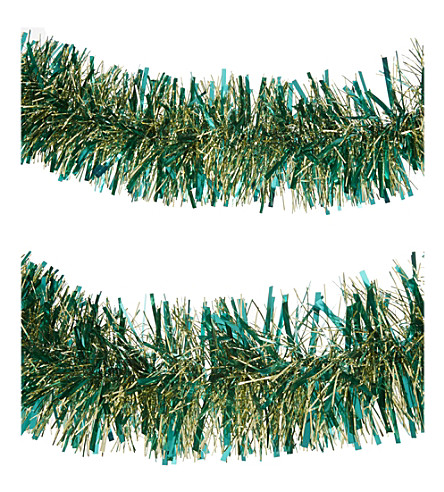 HANGING ORNAMENT Tinsel garland 190cm