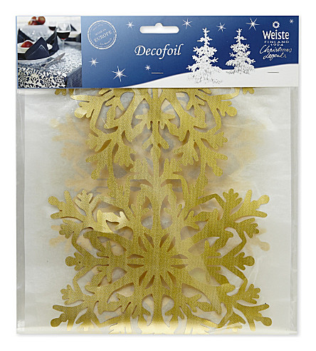 HANGING ORNAMENT Snowflake table runner 2m