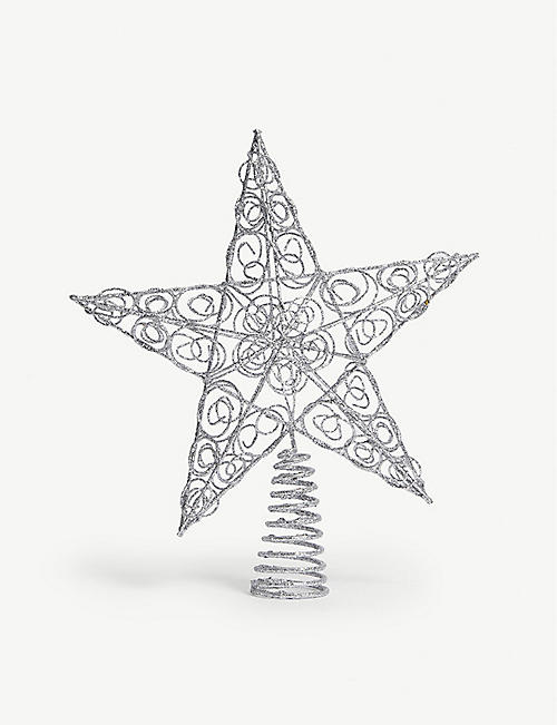 Luxury Artificial Christmas Trees Led Lights Selfridges Rh Com Hi Res Clip Art Tree Star Topper Coloring Page