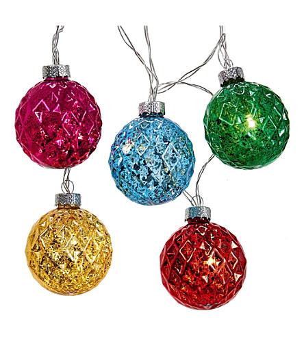 OUTDOOR LIGHTS Glass Christmas lights set