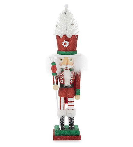 HANGING ORNAMENT Hollywood Nutcracker Christmas ornament 49cm