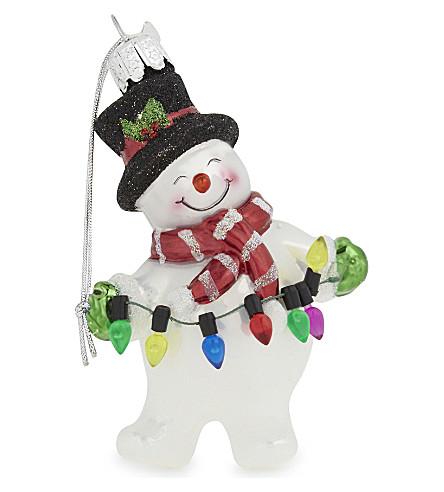 HANGING ORNAMENT Snowman hanging ornament 10cm