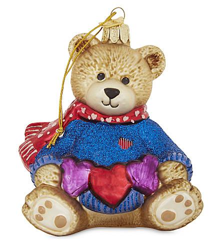 HANGING ORNAMENT Teddy bear hanging ornament
