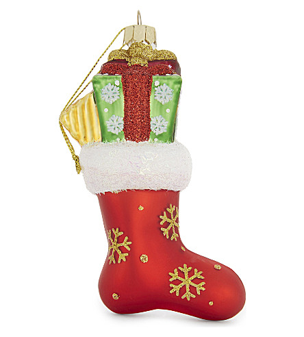 HANGING ORNAMENT Stocking hanging ornament