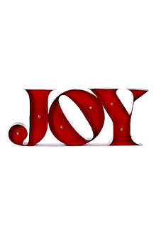 COACH HOUSE Light up JOY sign