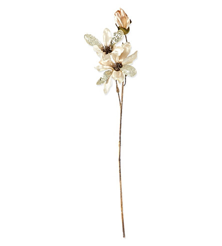 COACH HOUSE Traditional sprayed artificial flower 63cm