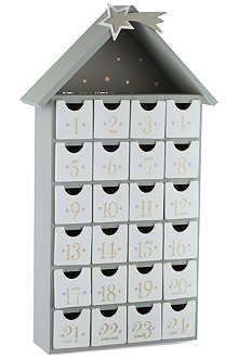COACH HOUSE Wooden advent calendar
