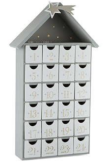 COACH HOUSE Wooden advent calendar