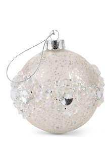 COACH HOUSE Embellished glitter bauble