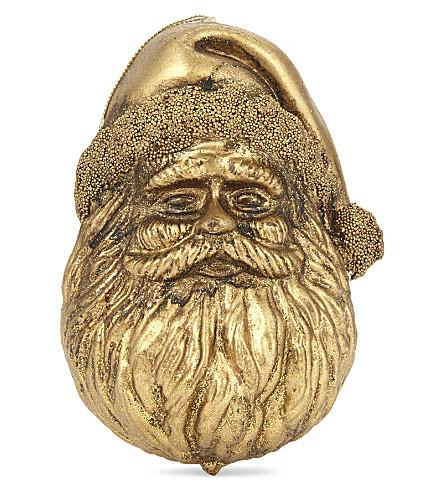 HANGING ORNAMENT 镀金 Santa Claus HANGING ORNAMENT 15 厘米