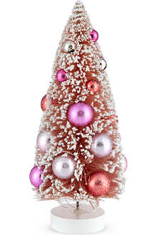 GOODWILL Small pink Christmas tree 23cm