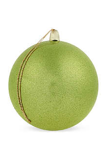 GOODWILL Sparkling green bauble 8cm