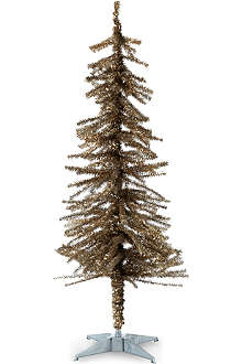 GOODWILL Traditional tinsel pine Christmas tree 122cm