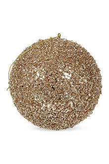 GOODWILL Gold glitter bauble
