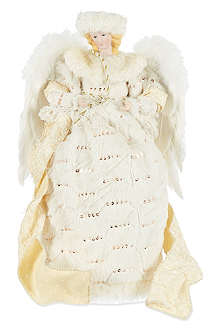 GOODWILL Faux-fur angel 40cm