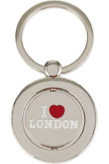 ELGATE I love london keyring
