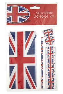 ELGATE Union Jack school kit