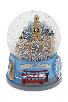 ELGATE London collage snow globe 6.5cm