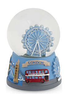 ELGATE London Eye Christmas collage-base snow globe 4.5cm