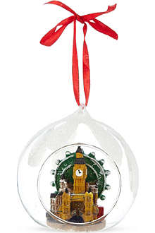 ELGATE London collage bauble 6.5cm