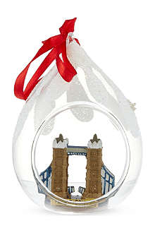 ELGATE Tower Bridge bauble 11cm