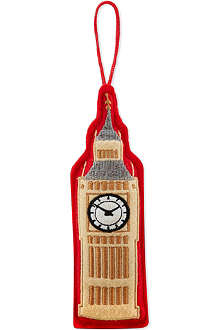 ELGATE Big Ben felt tree decoration