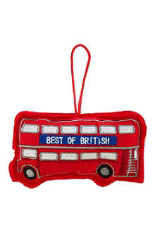 ELGATE Bus felt tree decoration