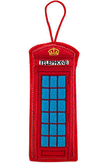 ELGATE Telephone box felt tree decoration