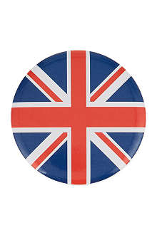 ELGATE Union Jack tin mirror