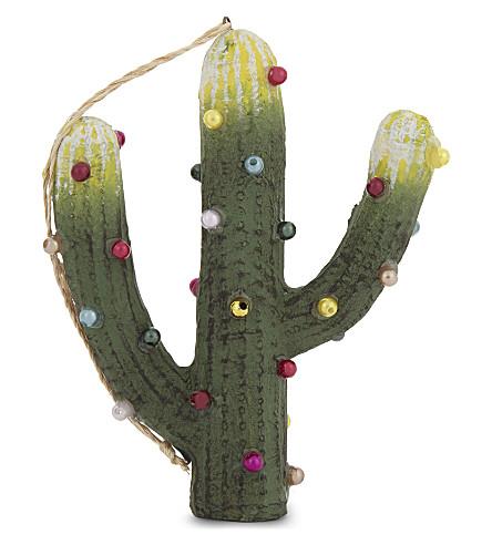 HANGING ORNAMENT Saguaro cactus hanging decoration 10cm