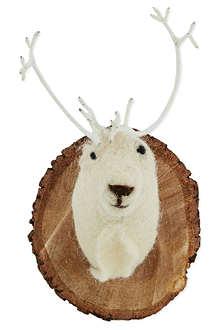CODY FOSTER Reindeer plaque 20cm