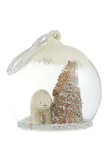 CODY FOSTER Polar bear globe bauble