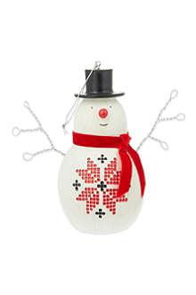 MIDWEST Snowman ornament