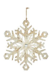 MIDWEST Snowflake ornament
