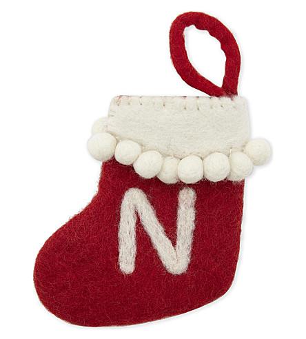 STOCKINGS 'N' mini felt stocking