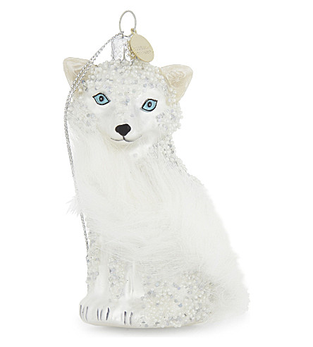 HANGING ORNAMENT Fox hanging ornament 11cm