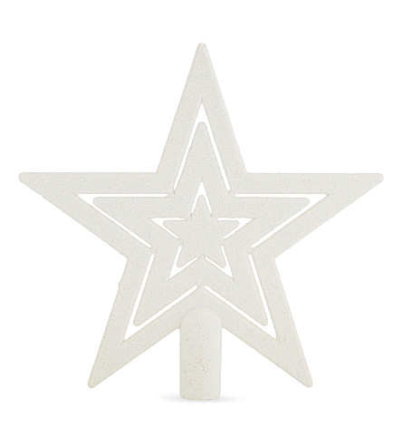 HANGING ORNAMENT Star Christmas Tree Topper 20cm