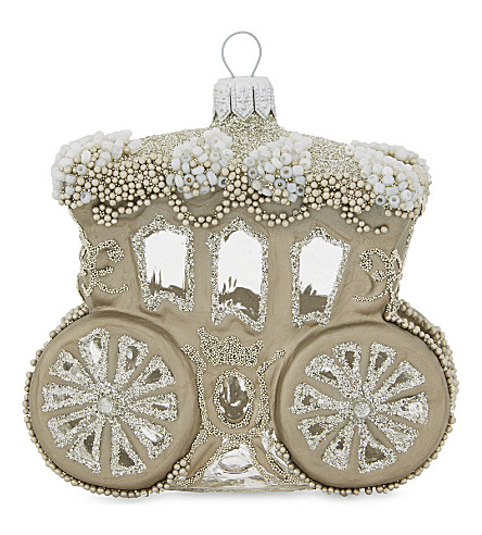 HANGING ORNAMENT Royal carriage tree decoration 9cm