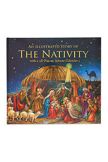 CASPARI Advent nativity pop-up book