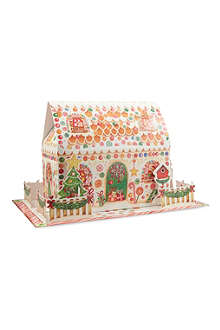 CASPARI Gingerbread House 3D advent calendar