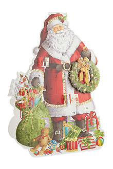 CASPARI Santa Claus 3D advent calendar